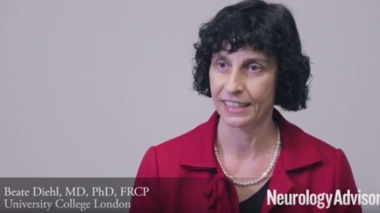 Beate Diehl MD, PhD, FRCP