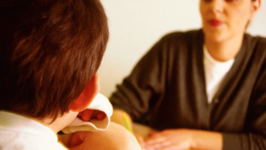 For preschool-aged children, the American Academy of Pediatrics (AAP) recommends that clinicians prescribe evidence-based parent- and/or teacher-administered behavior therapy as first-line ADHD treatment. If evidence-based behavioral treatments are not available, clinicians should weigh the risks of starting medication at an early age against the harm of delaying diagnosis and treatment.