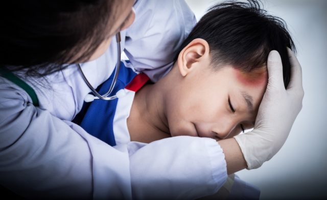child concussion head injury