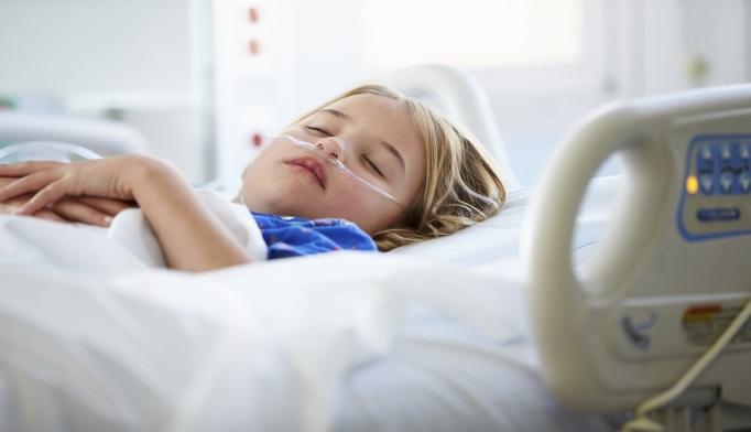 Child in ICU