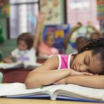 child sleep school