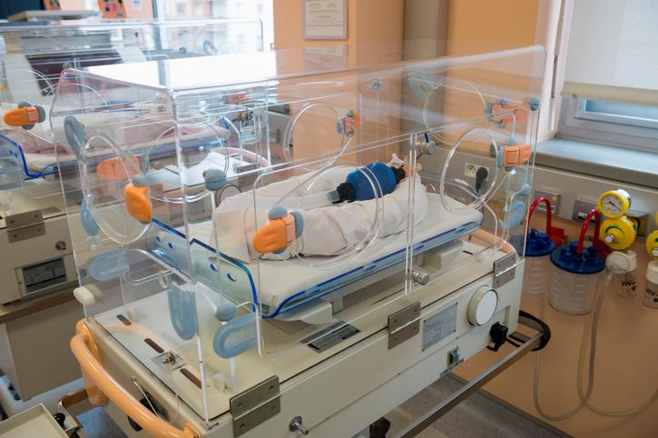 incubator in NICU