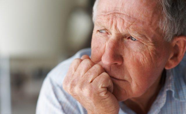 old man depression