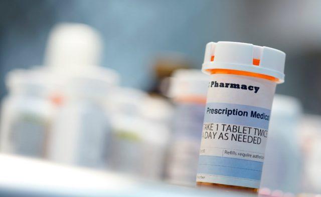 Prescription medicine bottle