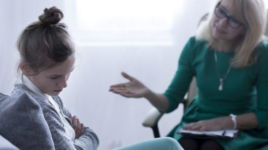 talking to girl