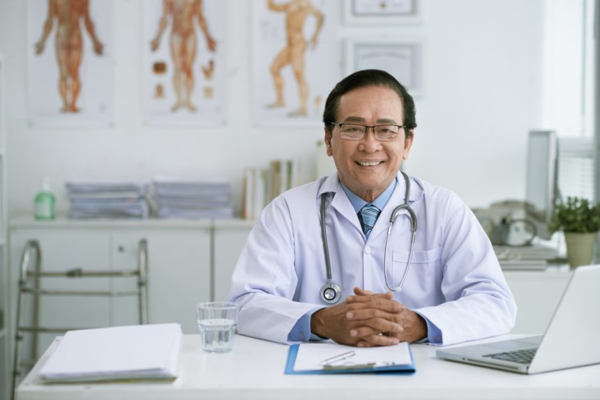Chief Physician, Asian, doctor