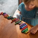 Child, pediatrics, crayons, learning