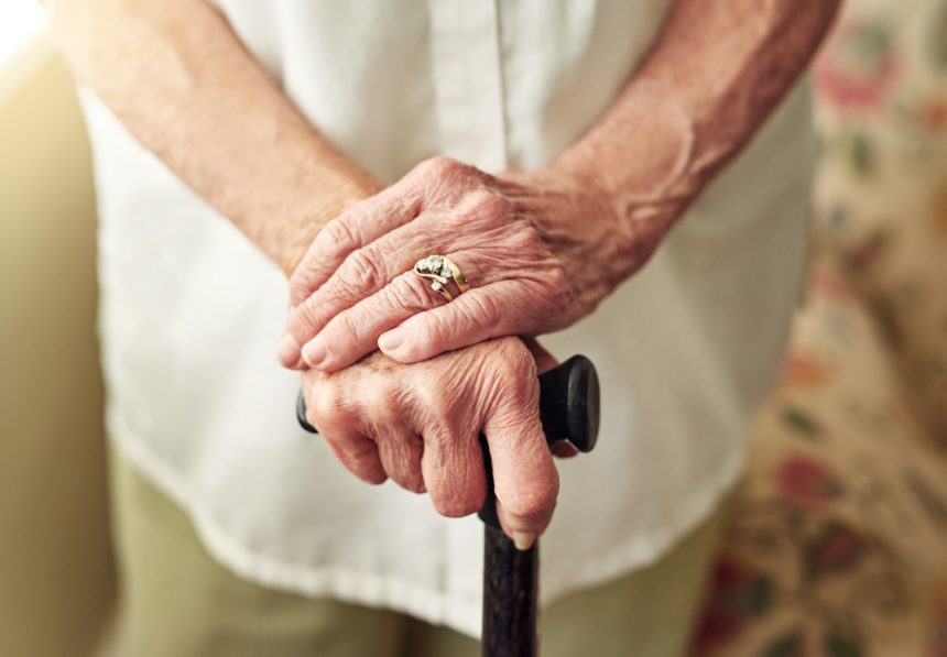 Improving mobility with walking stick