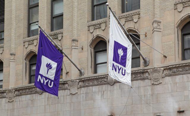 NYU flags