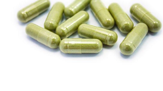 green pill capsule