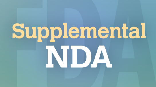 FDA Supplemental NDA graphic