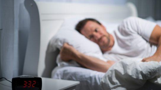 man can't sleep